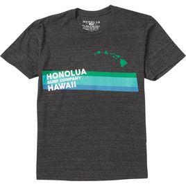 HONOLUA HAWAIIAN (PRODUCT URL BUG) SLIDE SS TEE BLACK