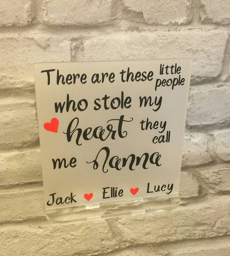 Personalised Frosted Freestanding Plaque Mother S Day Birthday