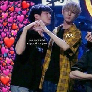 Vlive Bangchan Love You Meme Funny Kpop Memes I Miss You Guys
