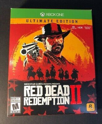 Brand New Red Dead Redemption 2 Ultimate Edition Xbox One Reddeadredemption Gaming Xboxone Red Dead Redemption Red Dead Redemption Ii Rockstar Games