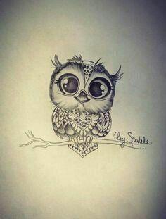 Pin By Steph Stoel On Art Owl Tattoo Small Owl Tattoo