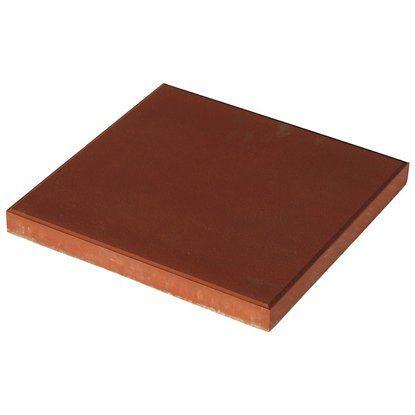 Kerti lap vörös 40 cm x 40 cm x 3,8 cm | Vörös