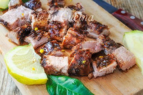 Filetto+di+maiale+al+forno+marinato+con+spezie