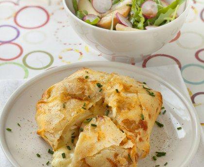 Galette De Camembert Aux Pommes Recette Recettes De Cuisine