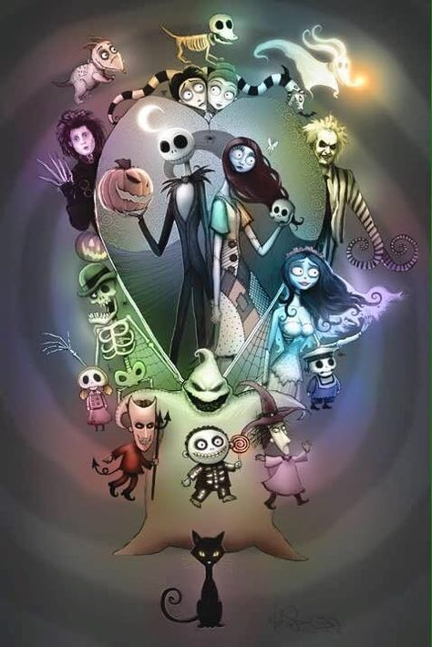 61 Ideas For Drawing Ideas Creepy Tim Burton Nightmare Before Christmas Wallpaper Nightmare Before Christmas Tattoo Tim Burton Art