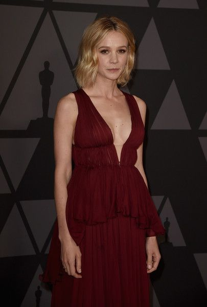 Carey Mulligan attends the Academy of Motion Picture Arts and Sciences' 9th Annual Governors Awards at The Ray Dolby Ballroom.