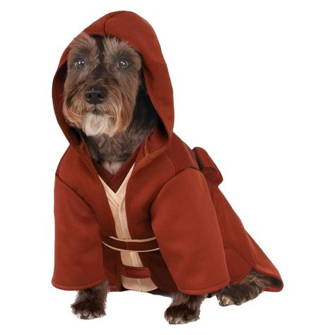 halloween star wars jedi robe pet costume large clear products rh pinterest com au
