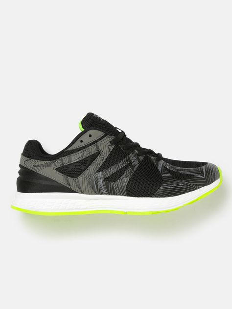 d7e1d5964 HRX by Hrithik Roshan Men Street Run Black   Grey Running Shoes ...