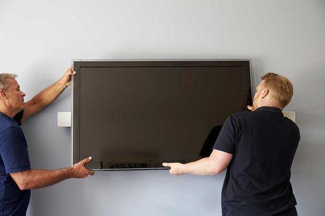 Accrocher Une Tv Au Mur Mur Tv Hauteur Tv Murale Et
