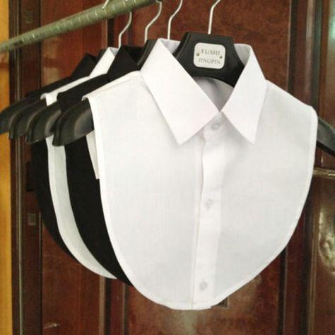 Blouse Vintage Cotton Lace Clothes Accessories Detachable False Collar