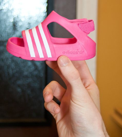 40f70cfc1c8809 adidas Infant adilette Play - Bloom with White... 19.99
