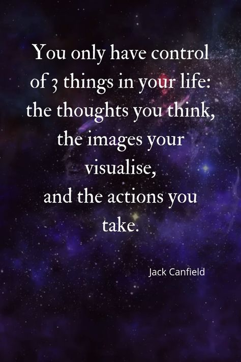 Thoughts - Imagery - Action