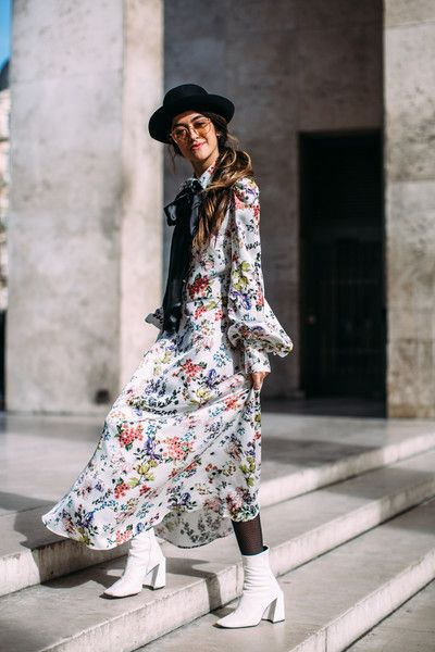 Silken Thing - Flawless Street Style Snaps From Paris Fashion Week, Fall 2018 - Photos