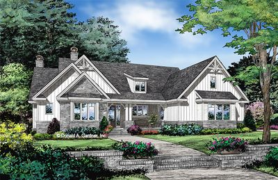 House Plan The Coppernorth By Donald A Gardner Architects Farmhouse Style House Plans Craftsman Style House Plans Farmhouse Style House