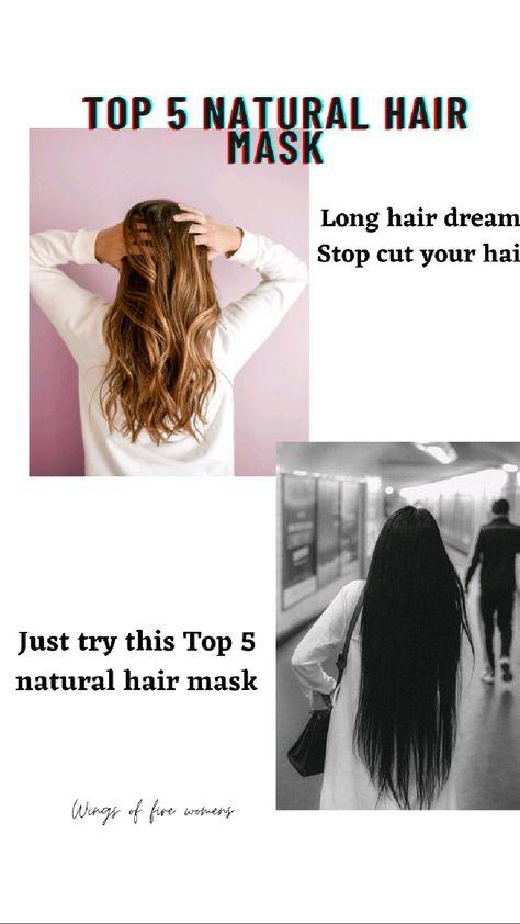 top 5 natural hair growth mask