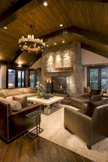 54 Adorable Country Living Room Design Ideas Arredamento