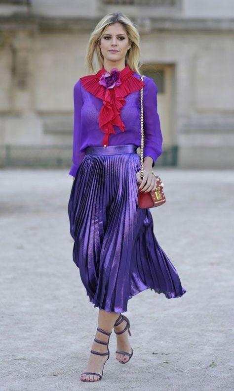 Idées de tenues colorées