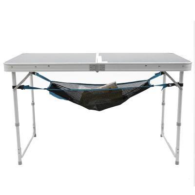 Base Camp Furniture Under Table Storage Net Table Camping Rangement De Table Table De Camping Pliante