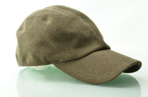 6d32e31629f17 Mens Hat DIESEL Cimetal Wool Blend Baseball Trucker Hats Brim Cap Sz 2 M RT   198  Diesel  BaseballCap