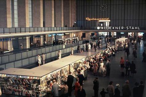 1960 Haupthalle Flughafen Berlin-Tempelhof