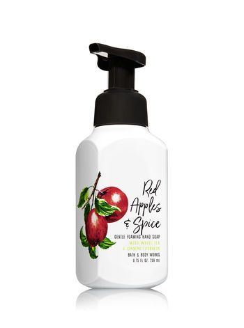 Red Apples Spice Gentle Foaming Hand Soap Bath And Body Works