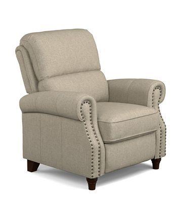Prolounger Linen Push Back Recliner Chair Reviews Recliners Furniture Macy S Recliner Chair Recliner Furniture Small recliners with good back support