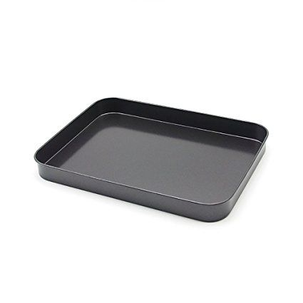 Nonstick Bakeware 9 Inch X 7 Inch Cookie Pan Gray Review Nonstick Bakeware Baking Cookie Sheets Pan
