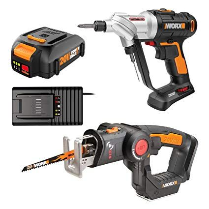 Worx Axis Combo Kit Drill Driver Drill