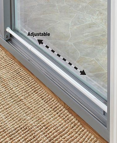 Window Or Sliding Door Security Bars Home Renovation Home Safety Home Security Systems