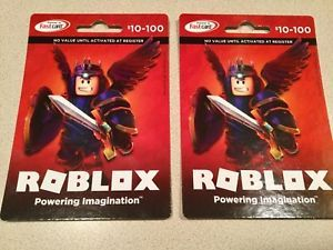 10 100 Roblox Gift Card