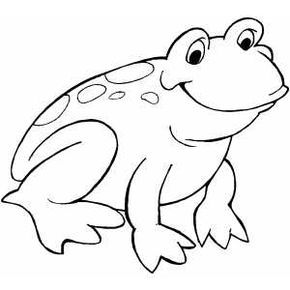 Smiling Frog Frog Coloring Pages Animal Coloring Pages Frog Drawing