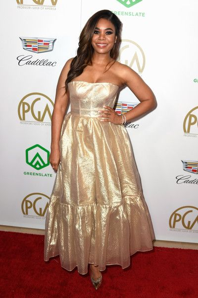 Regina Hall attends the 30th annual Producers Guild Awards at The Beverly Hilton Hotel.