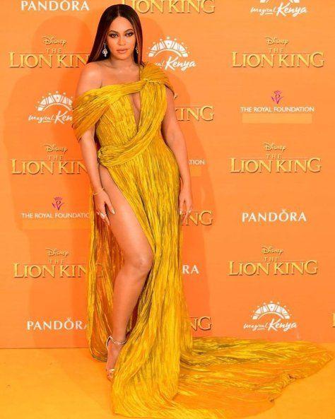 the lion king premiere london fashion
