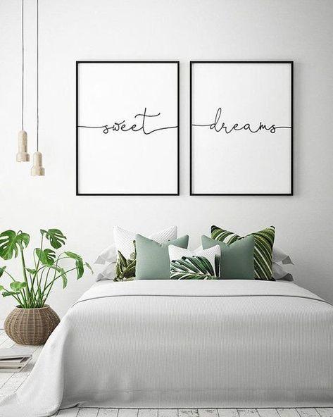 31 Wunderschone Schlafzimmer Dekor Ideen Bedrooms Wanddekor