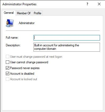 How To Enable The Hidden Admin Account On Windows Computeeza Accounting Admin Told You So