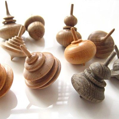 Koma Spinning Tops - Sakai: Simply stunning and spin beautifully. Lots of different designs.