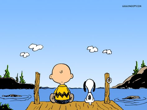 Charlie Brown and Snoopy wallpaper