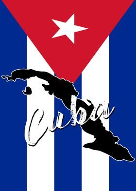 Cuban Flag Metal Poster In 2020 Poster Prints Metal Posters Countries And Flags