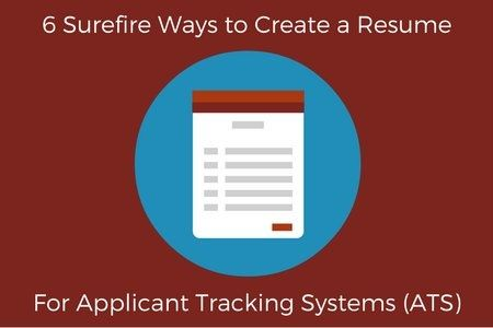 Are you working on your #resume today? Weu0027ve got some tips on how - resume tracking system