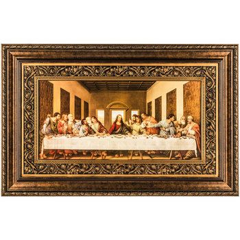 Last Supper Framed Wall Art 42 1 2 X 27 Inches Mardel Frame Wall Decor Last Supper Wall Decor Living Room