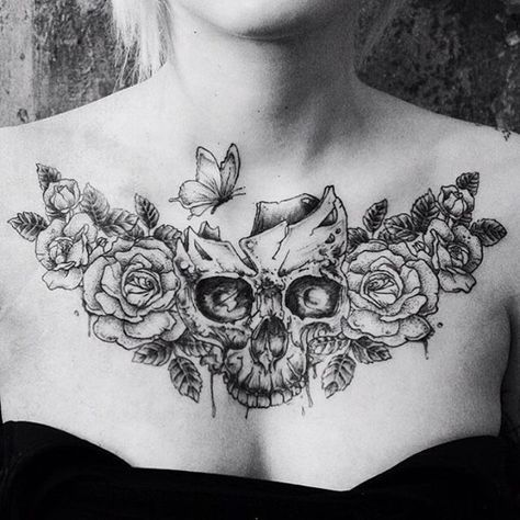 Trendy Tattoo Ideas Female Chest Beautiful For Women 49 Ideas Chest Tattoos For Women Stomach Tattoos Women Chest Piece Tattoos