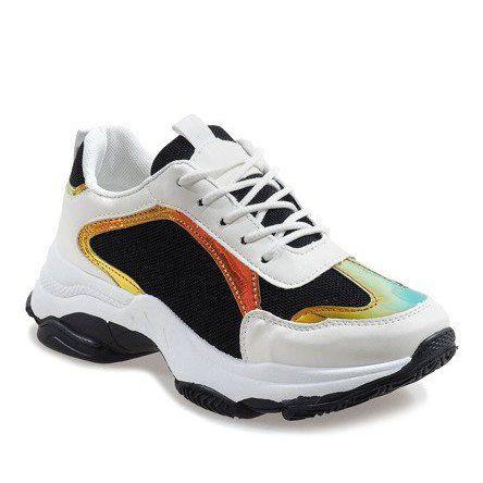 Czarne Modne Obuwie Sportowe 2018 6 Womens Sneakers Shoes Sports Shoes