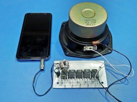 how to make amplifier at home 1000 watt with d718 12v power full amplifier  - youtube | audio amplifier, mini amplifier, subwoofer amplifier  pinterest