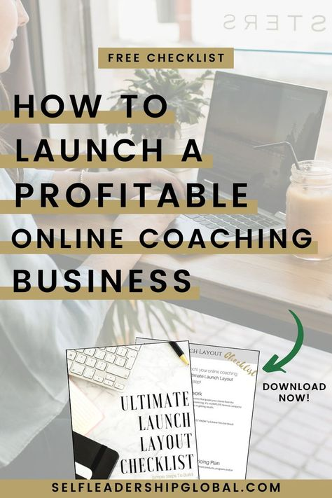 How to Start a Wildly Successful Coaching Business From Nothing (free worksheet)