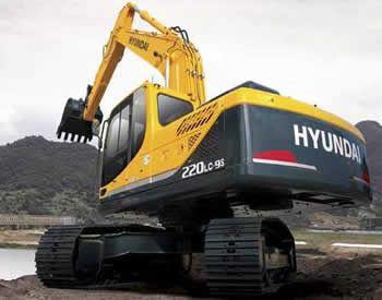 Hyundai R220lc 9s Crawler Excavator Service Repair Manual Repair Manuals Hyundai Excavator