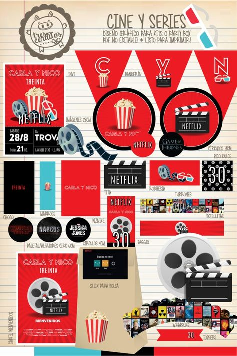Kit Digital Netflix Imprimir Buscar Con Google Netflix Imagenes Kit Digital Netflix