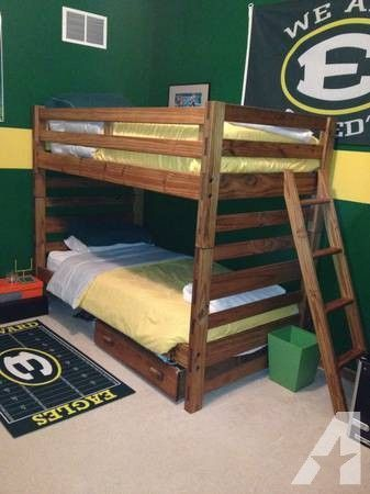 Children\'s bunk bed, bedroom set from This End Up - $600 ...