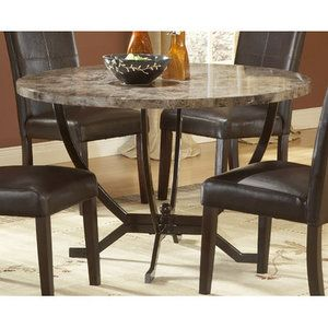 Walmart Bundle 16 Hillsdale Monaco Dining Table 2 Pieces Round Dining Table Sets Round Marble Dining Table Dining Table In Kitchen