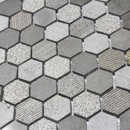 Carrelage Hexagonal Sol Et Mur En Pierre Disponible Chez Parquet