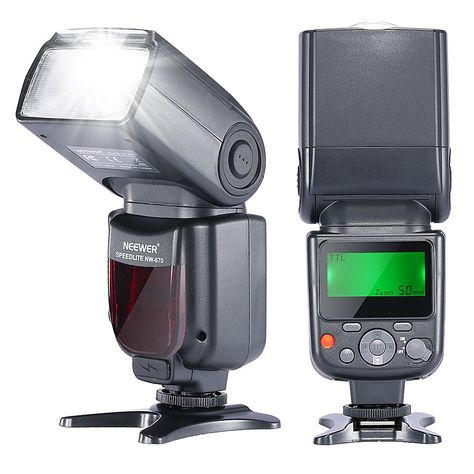 for Olympus Evolt E-300 Compact LCD Mult-Function Flash TTL, M, Multi